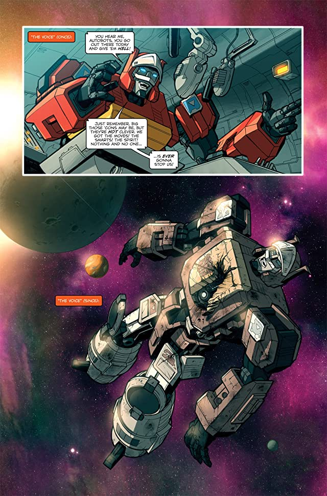 click for super-sized previews of Transformers: Spotlight - Blaster