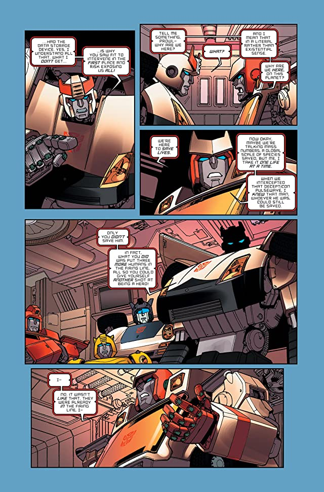 click for super-sized previews of Transformers: Infiltration #3