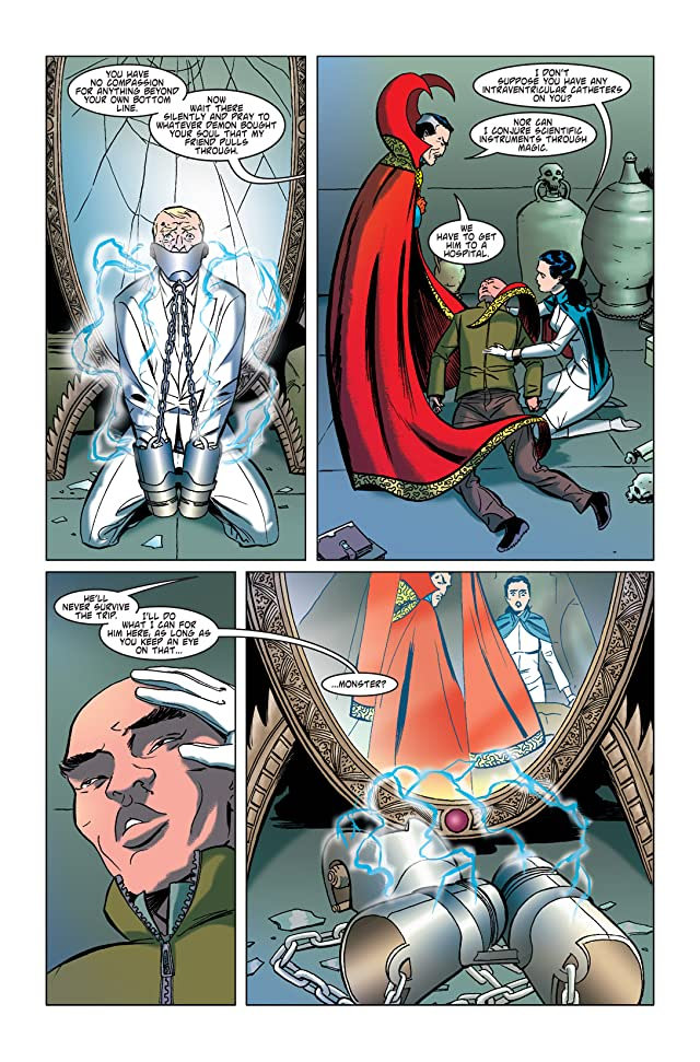 click for super-sized previews of Doctor Strange: The Oath #5