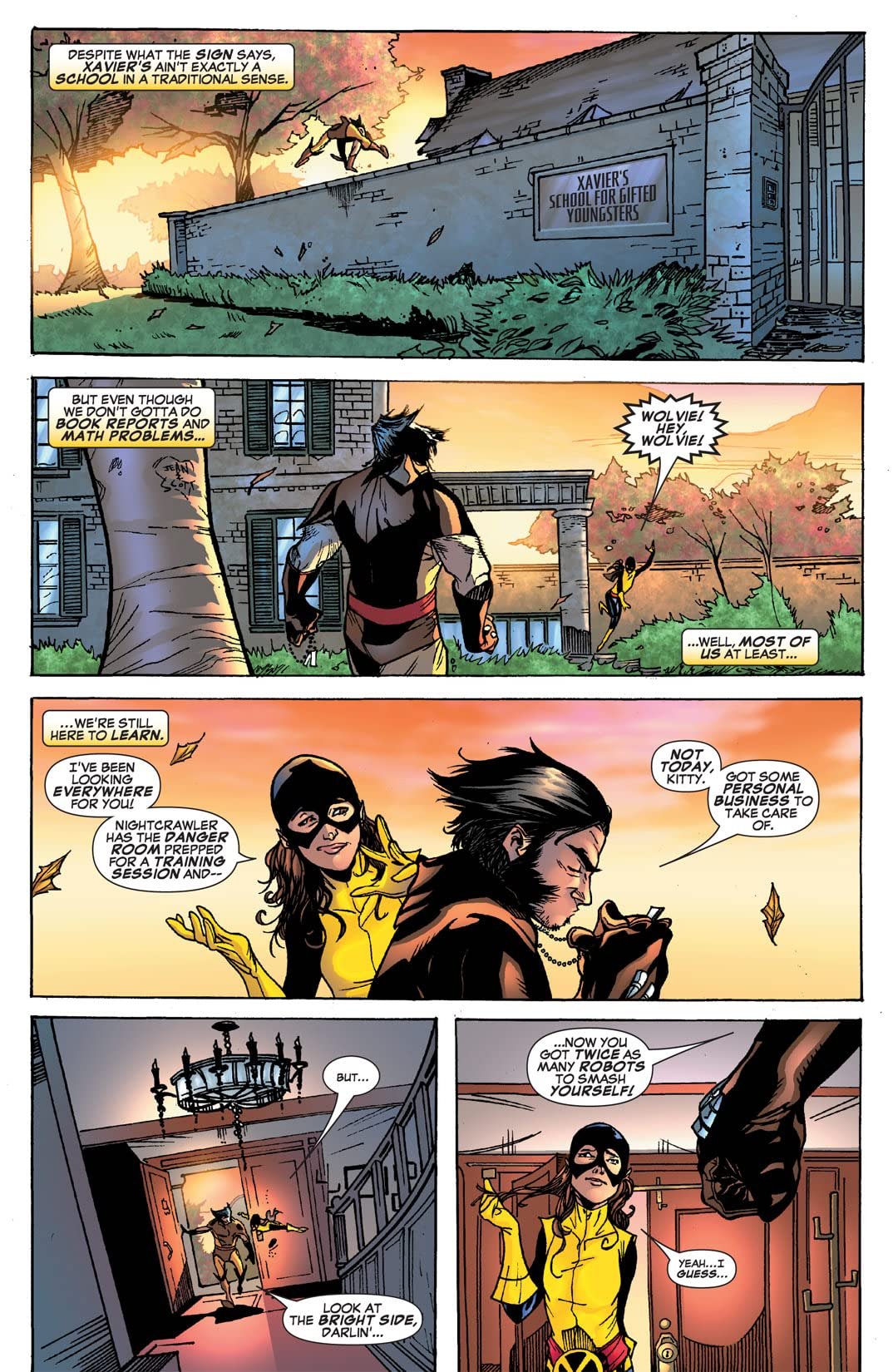 Weapon X: First Class #1 (of 3)