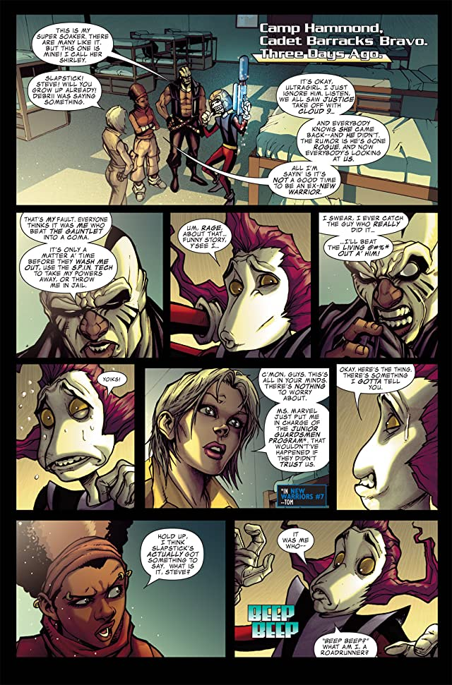 click for super-sized previews of Avengers: The Initiative #10