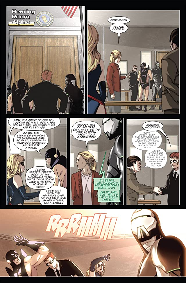 click for super-sized previews of Avengers: The Initiative #12