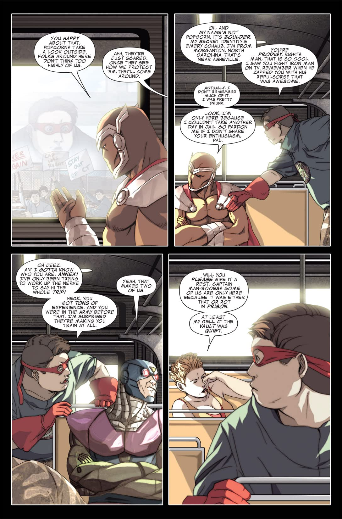 Avengers: The Initiative #13