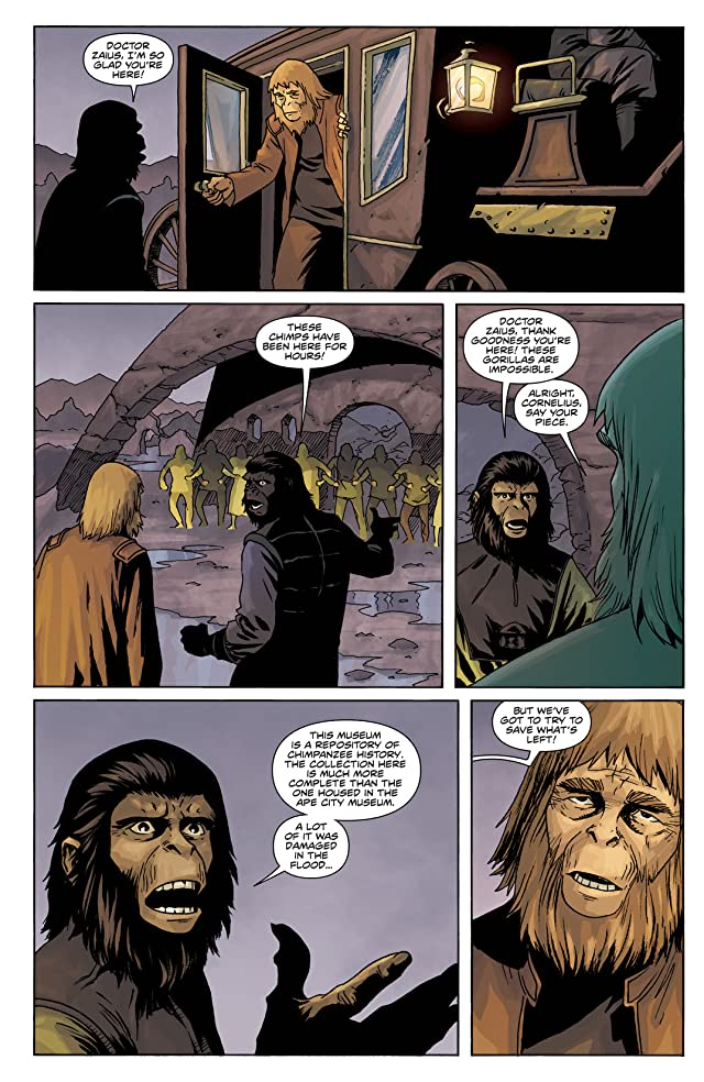 click for super-sized previews of Planet of the Apes Vol. 2: Cataclysm