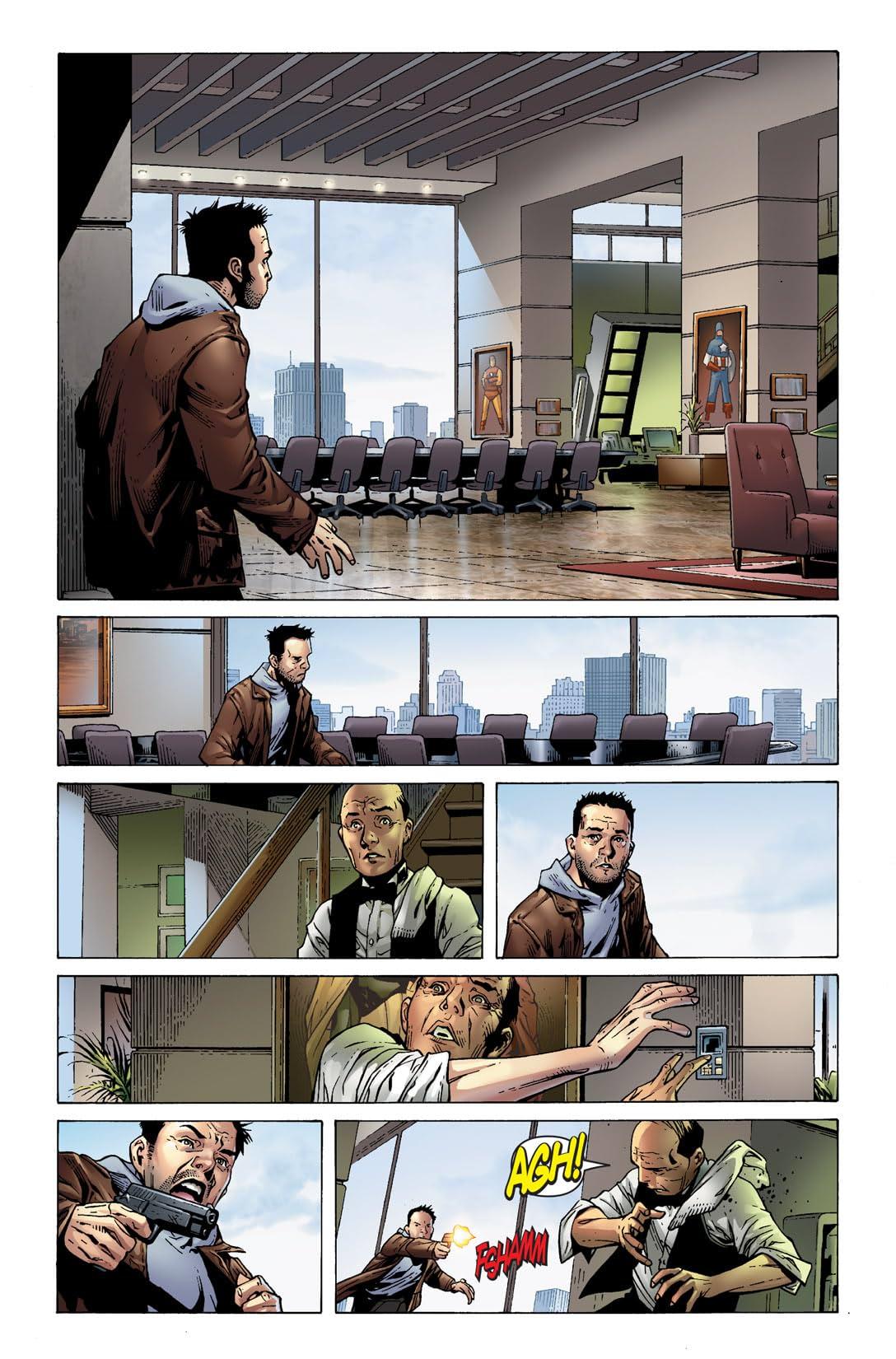 New Avengers (2004-2010) #25