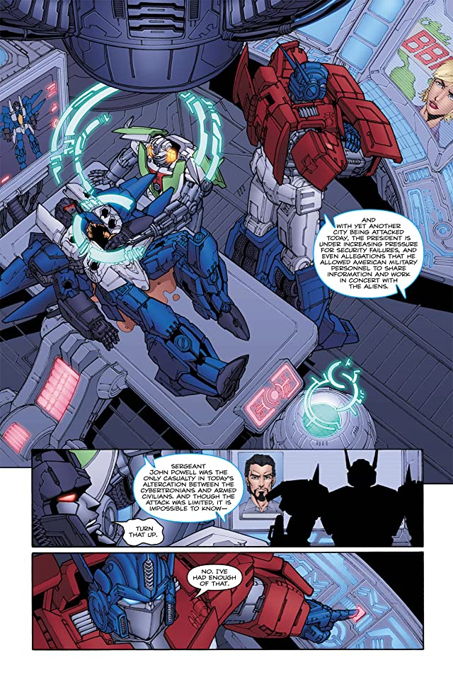 click for super-sized previews of Transformers (2010-2011) #18