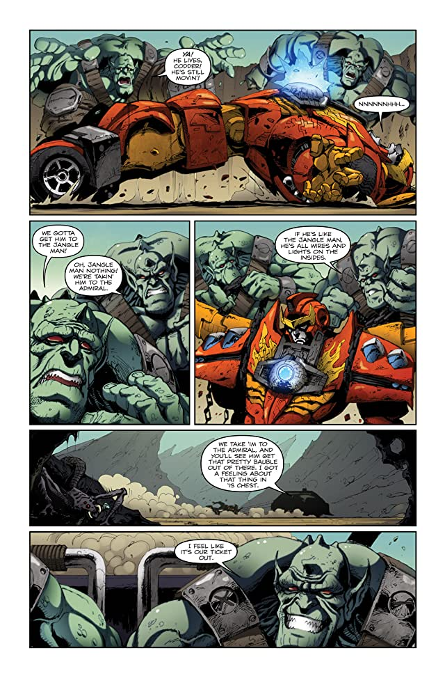 click for super-sized previews of Transformers (2010-2011) #19