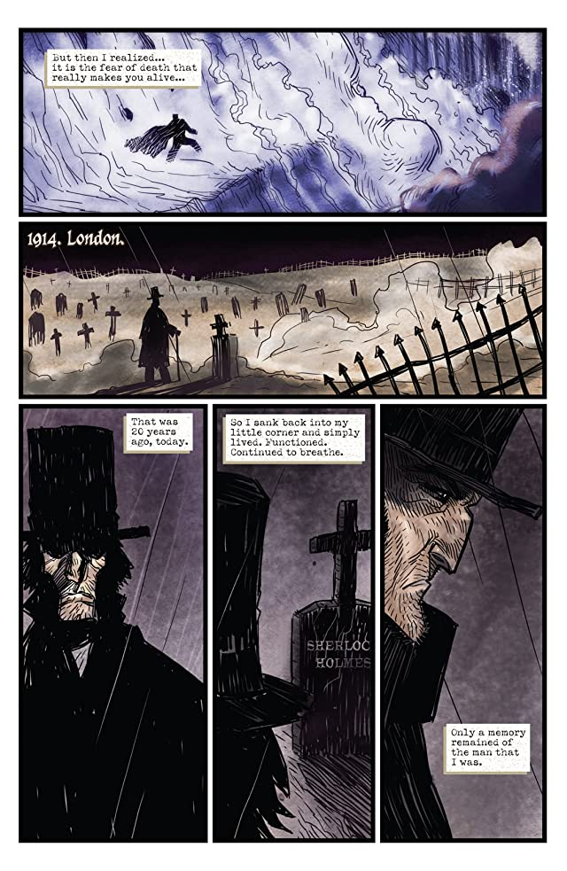 click for super-sized previews of Moriarty #1