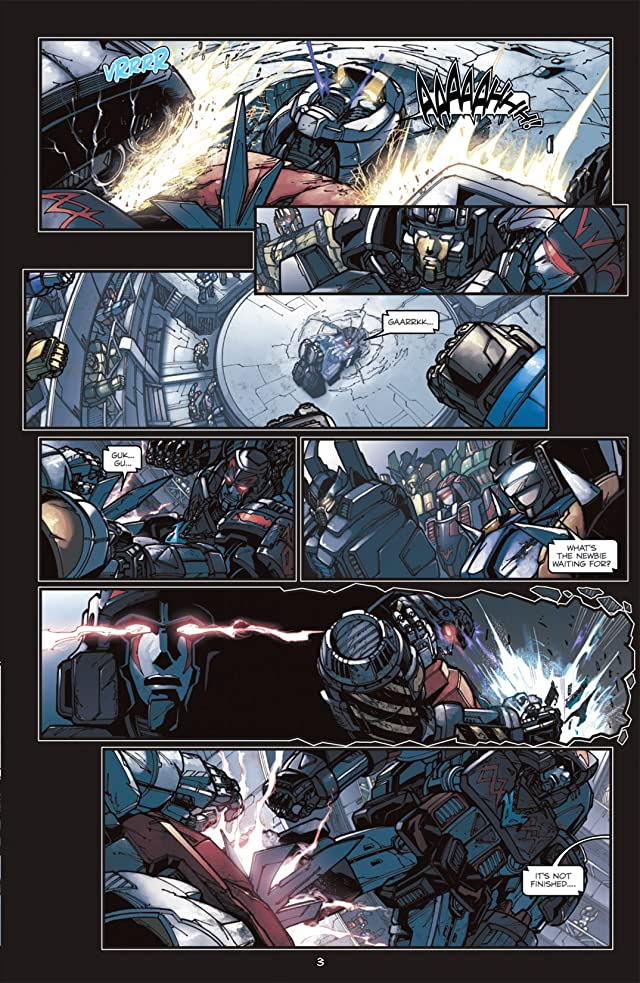 click for super-sized previews of Transformers: Megatron Origin #2 (of 4)