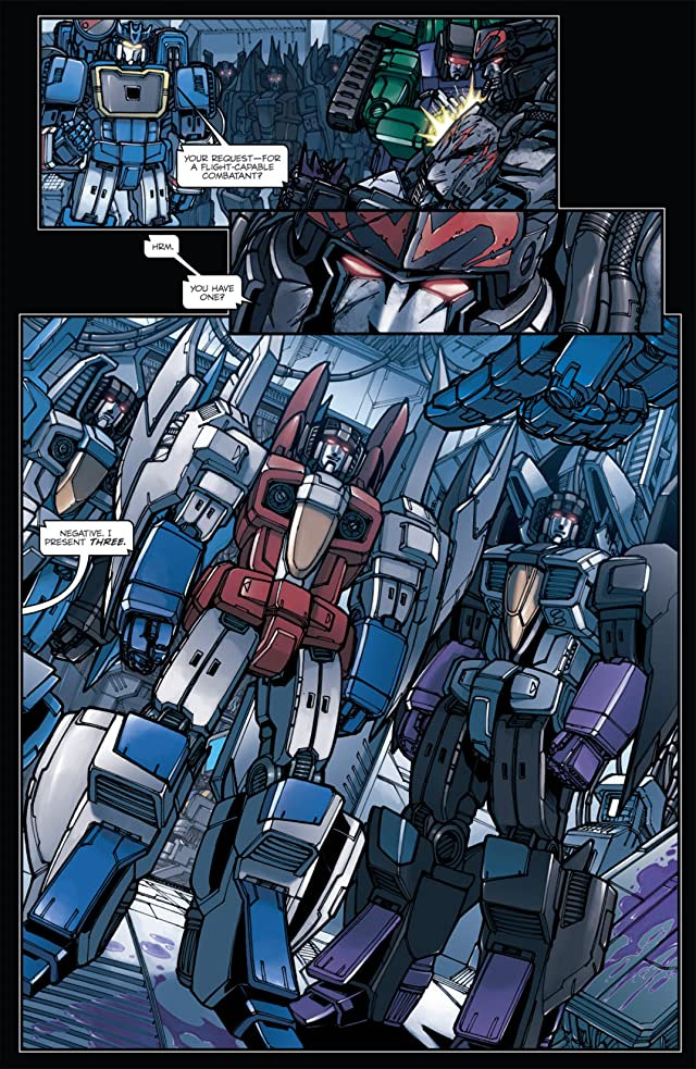 click for super-sized previews of Transformers: Megatron Origin #3 (of 4)