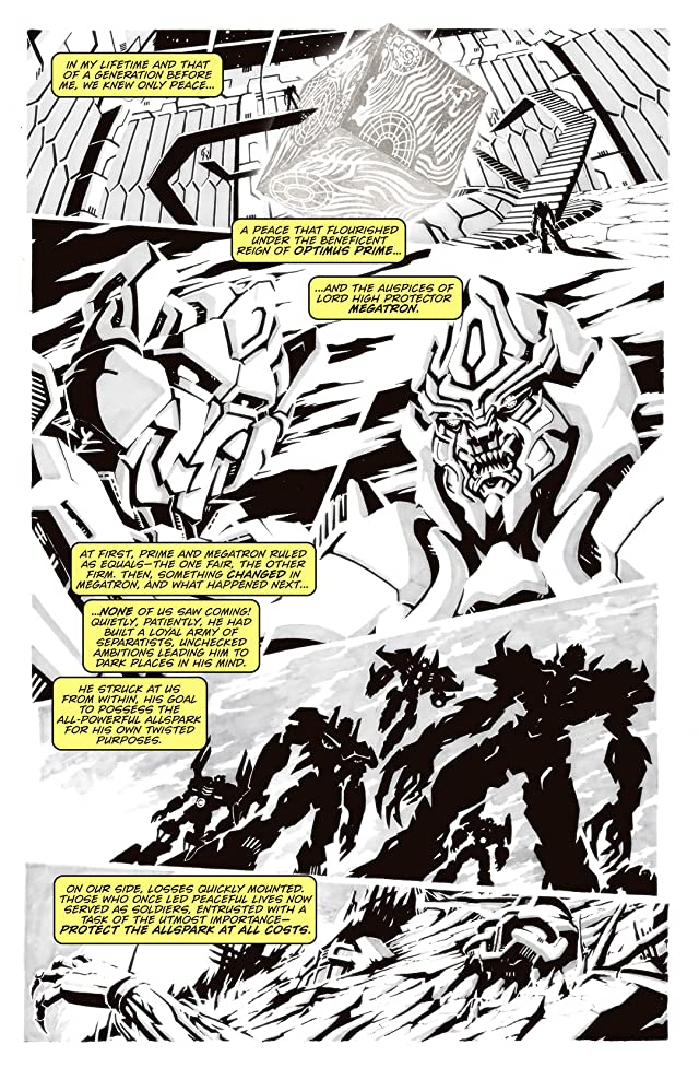 Transformers: The Official Movie Adaptation Prequel #1