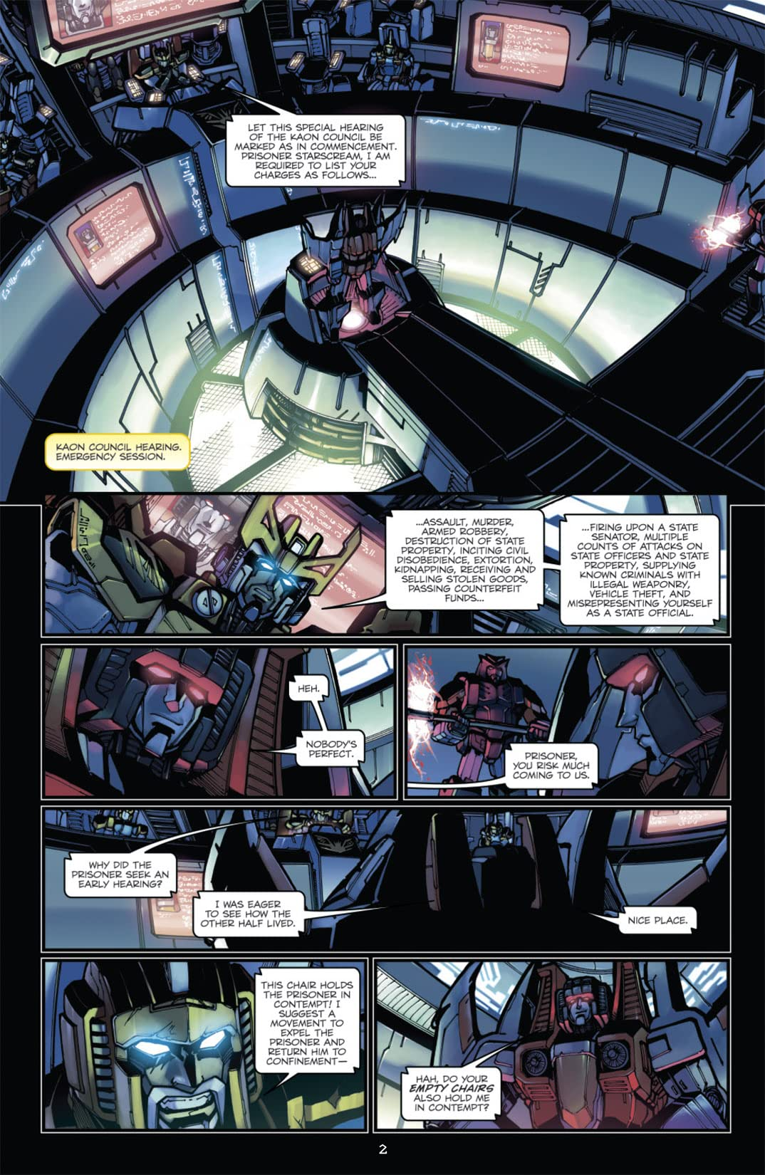 Transformers: Megatron Origin #4 (of 4)