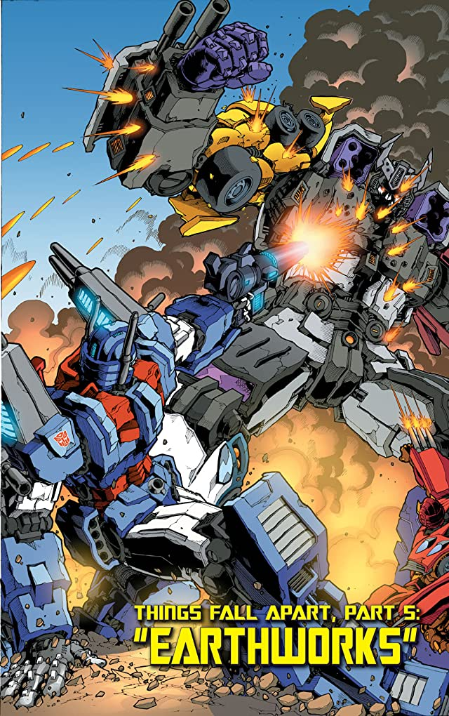 click for super-sized previews of Transformers (2010-2011) #6