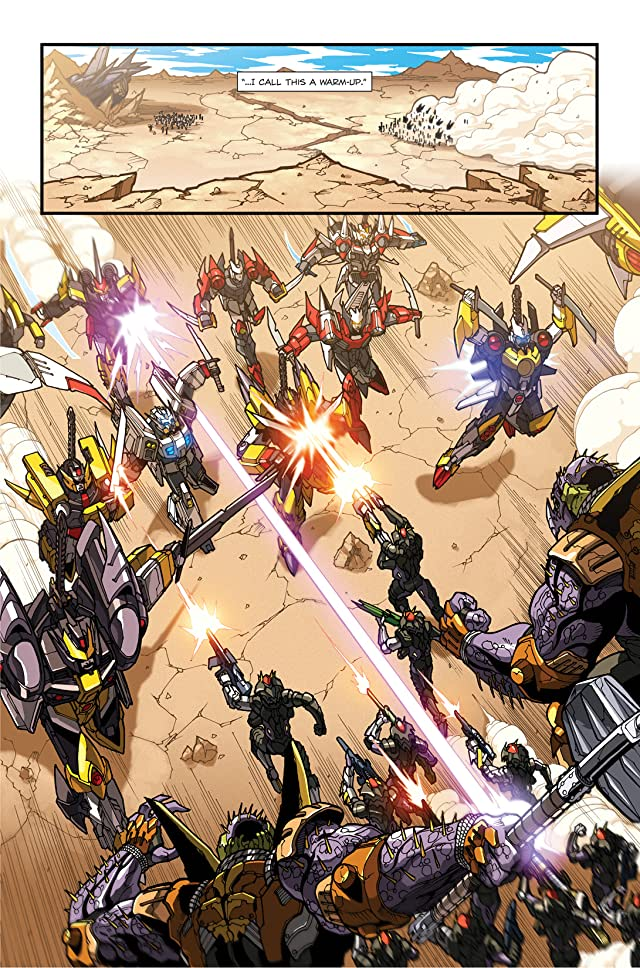 Transformers: Drift #4 (of 4)