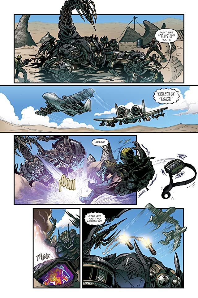 click for super-sized previews of Transformers: The Official Movie Adaptation #2 (of 4)