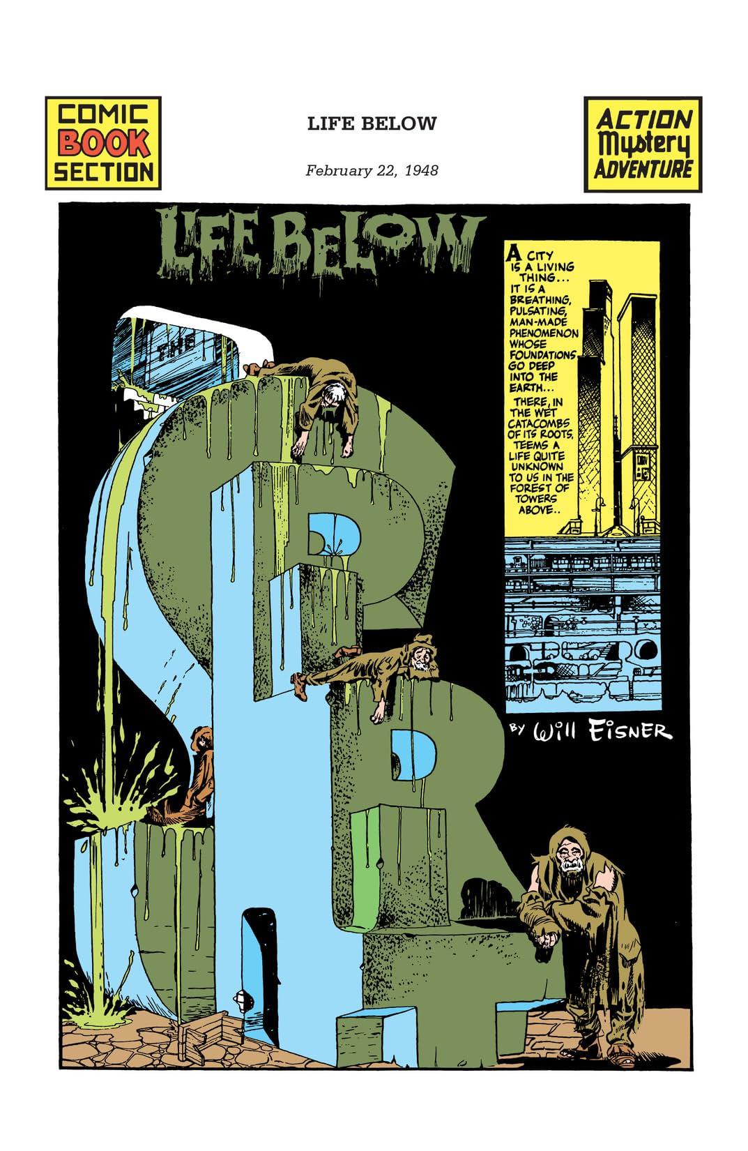 The Spirit #404: Life Below