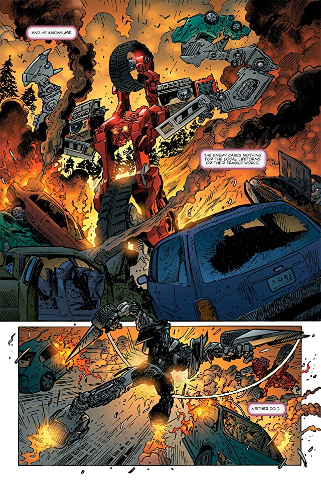 click for super-sized previews of Transformers: Tales of the Fallen #2 (of 5)