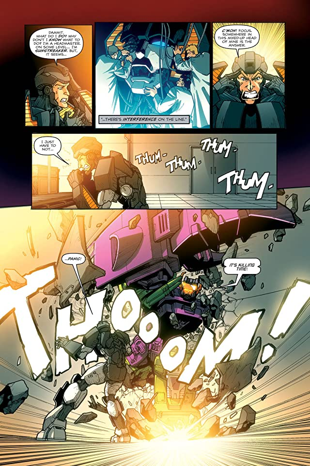 click for super-sized previews of Transformers: Devastation #6
