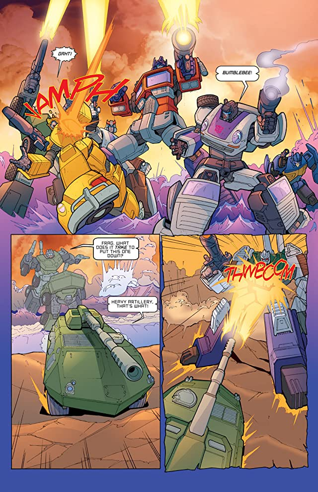 Transformers: Devastation #4