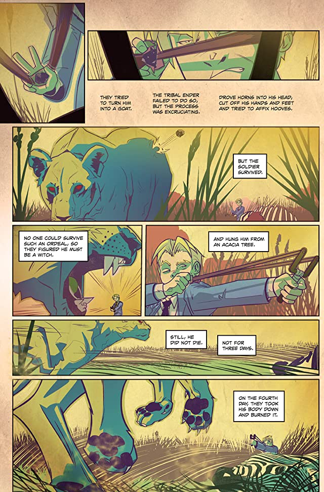 click for super-sized previews of Quatermain #2: Ghost of the Nzadi