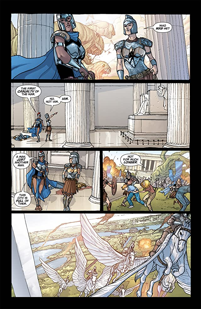click for super-sized previews of Amazons Attack! #1 (of 6)