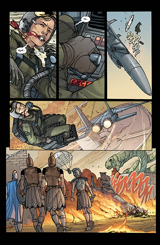 click for super-sized previews of Amazons Attack! #2