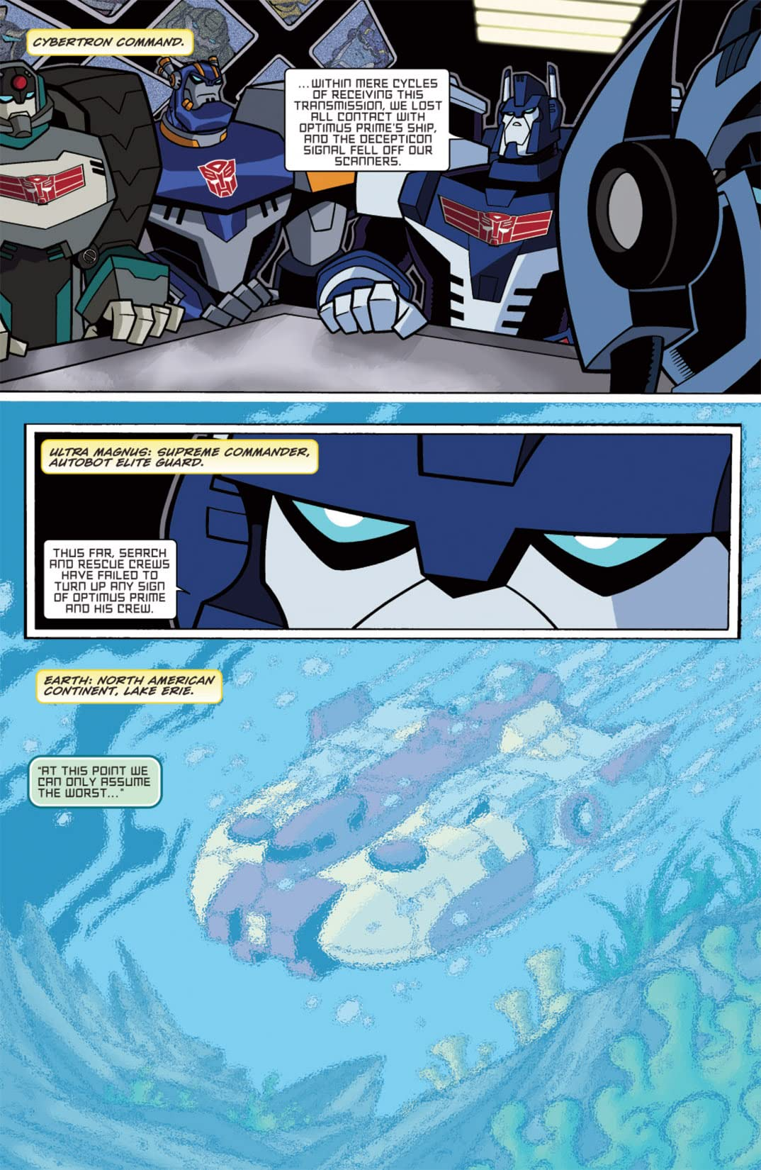 Transformers Animated - The Arrival #1