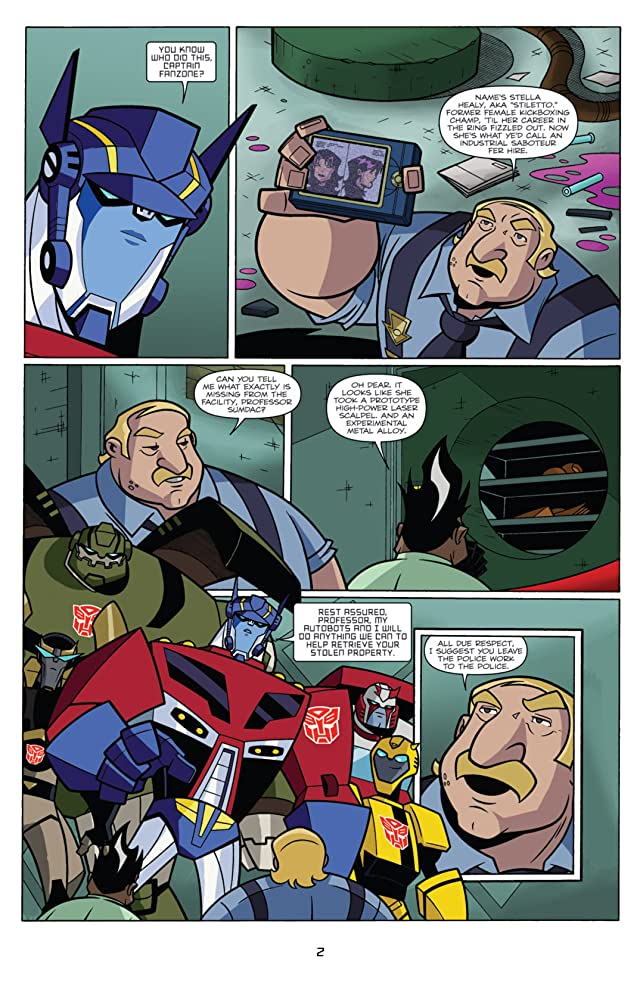 click for super-sized previews of Transformers Animated - The Arrival #3