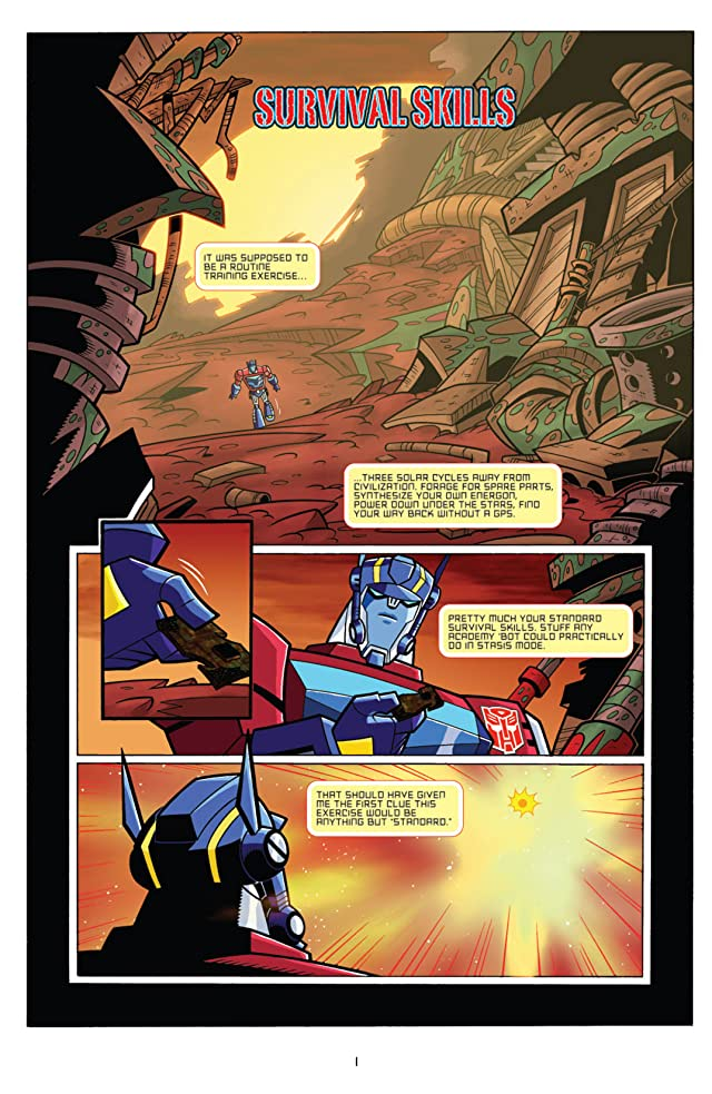click for super-sized previews of Transformers Animated - The Arrival #5