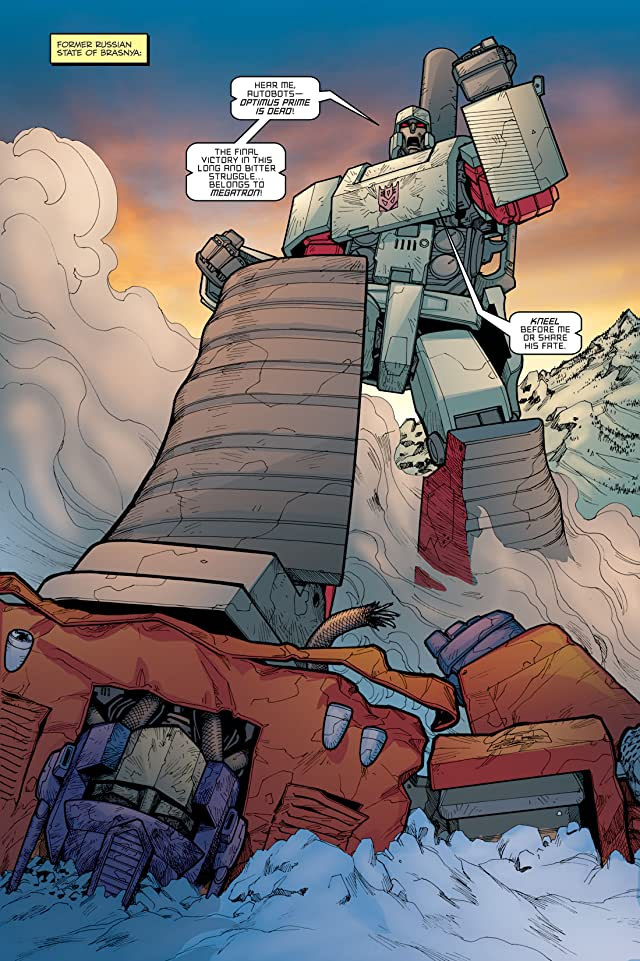 click for super-sized previews of Transformers: Escalation #6