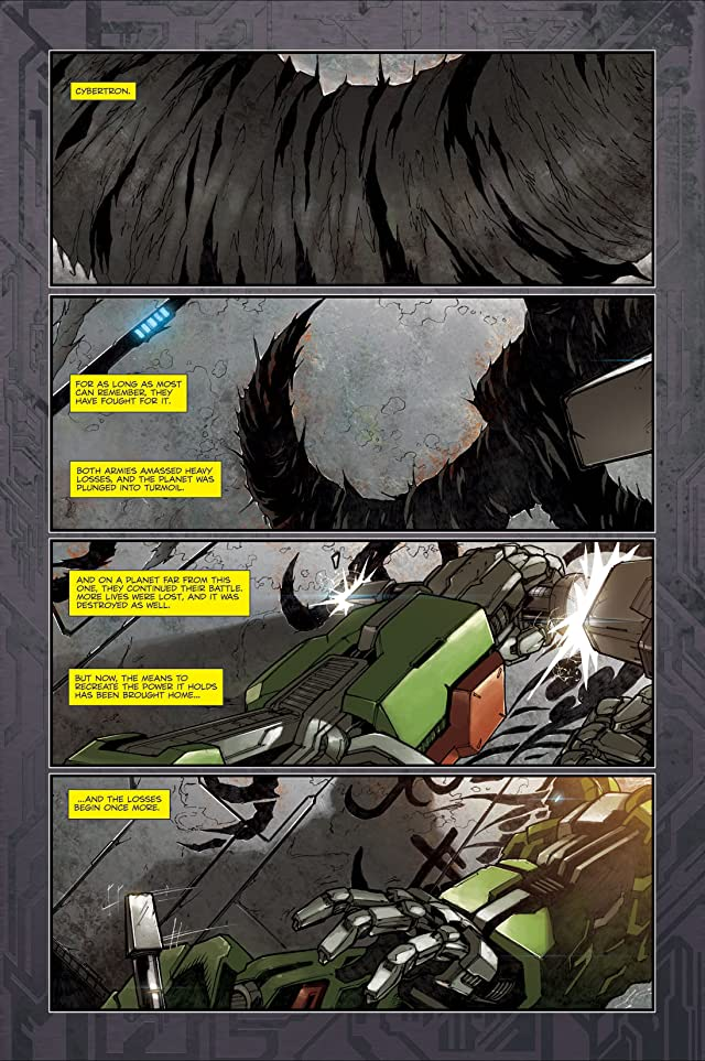 click for super-sized previews of Transformers: Reign of Starscream #4