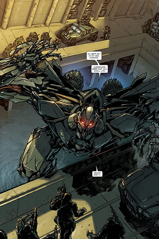 click for super-sized previews of Transformers: Reign of Starscream #2