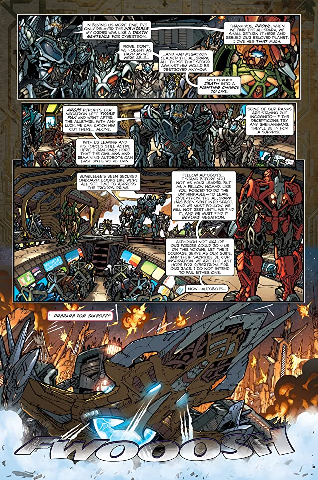 click for super-sized previews of Transformers: Reign of Starscream #1