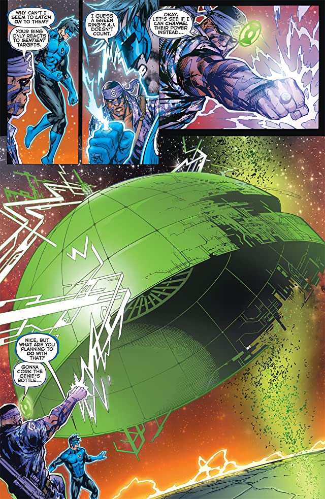 click for super-sized previews of Green Lantern Corps (2006-2011) #60