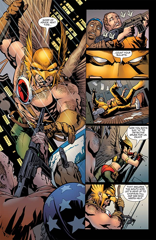 click for super-sized previews of Hawkman (2002-2006) #37