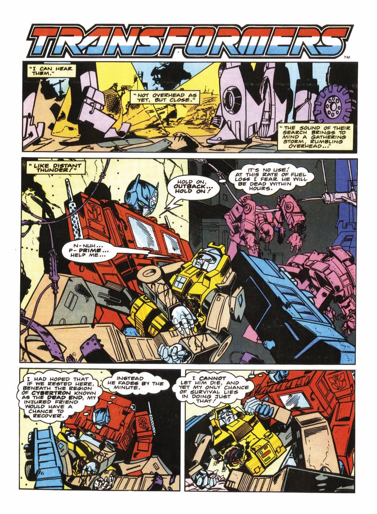 Transformers: Best of UK - Prey #3 (of 5)