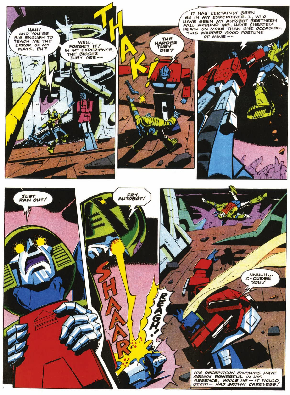 Transformers: Best of UK - Prey #2 (of 5)