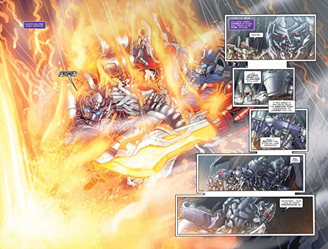 Transformers 3 Movie Prequel - Foundation #3 (of 4)