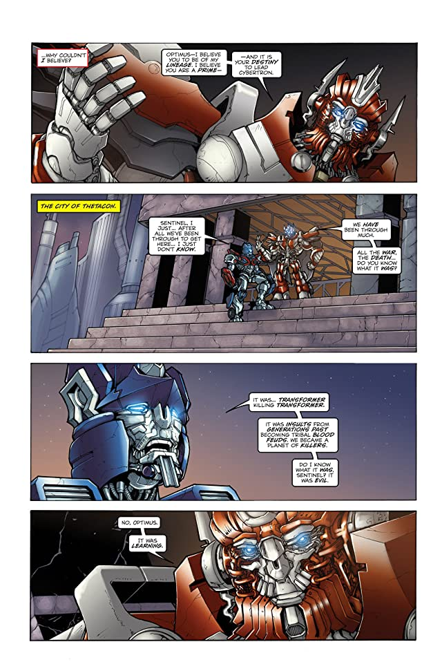 click for super-sized previews of Transformers 3 Movie Prequel - Foundation #2
