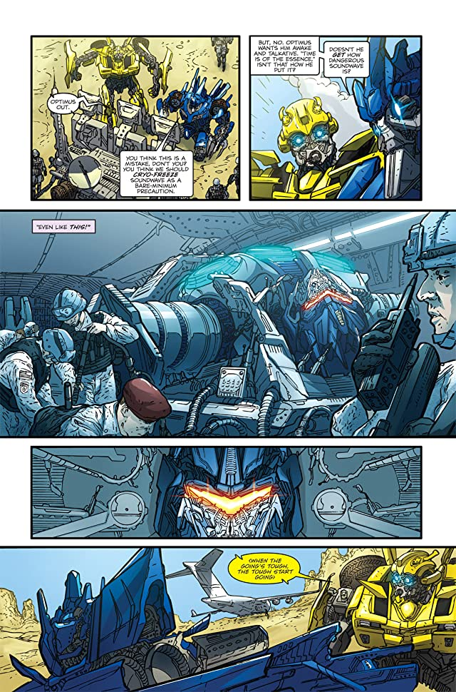 click for super-sized previews of Transformers: Nefarious #3