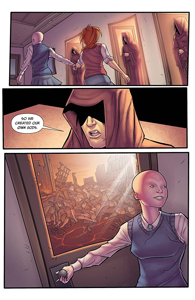 click for super-sized previews of Morning Glories #10