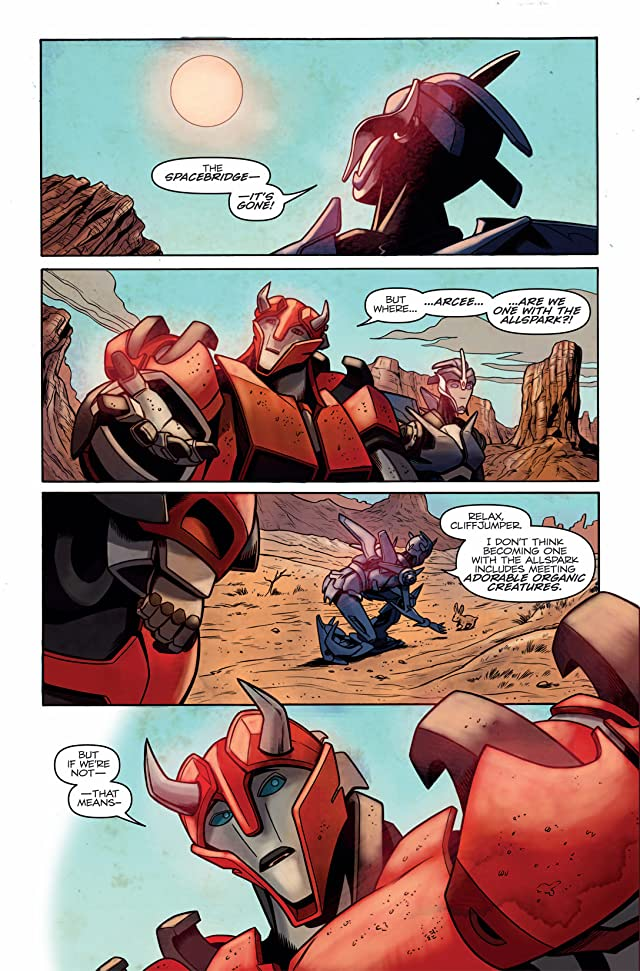 click for super-sized previews of Transformers: Prime #3 (of 4)