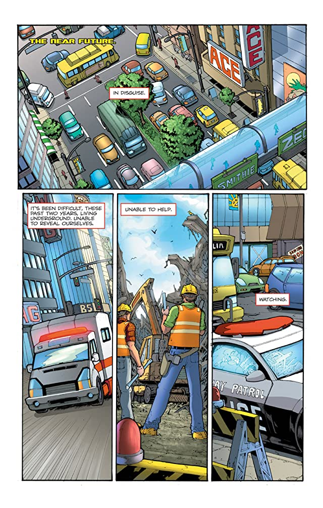 click for super-sized previews of Transformers (2010-2011) #1