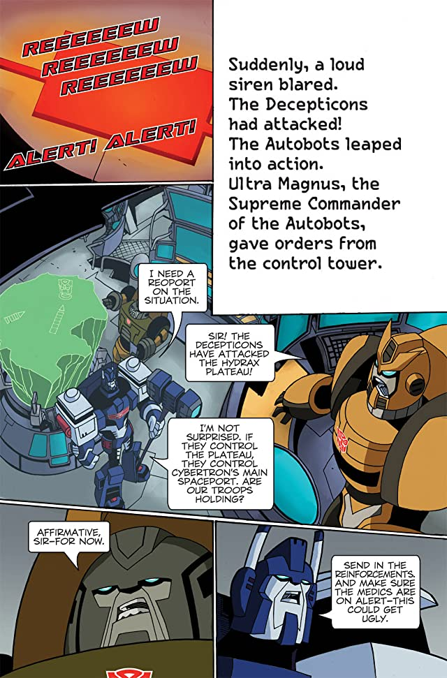 click for super-sized previews of Transformers: 'Bots of Science