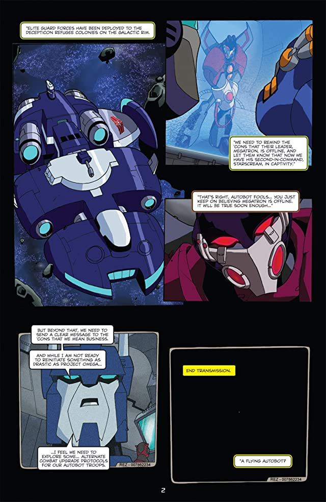 click for super-sized previews of Transformers Animated - The Arrival #6