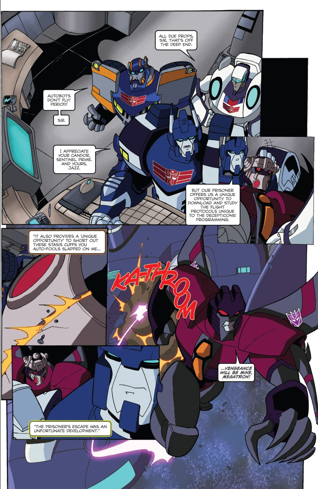 Transformers Animated - The Arrival #6