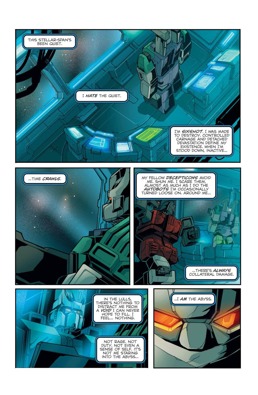 Transformers: Spotlight - Six Shot