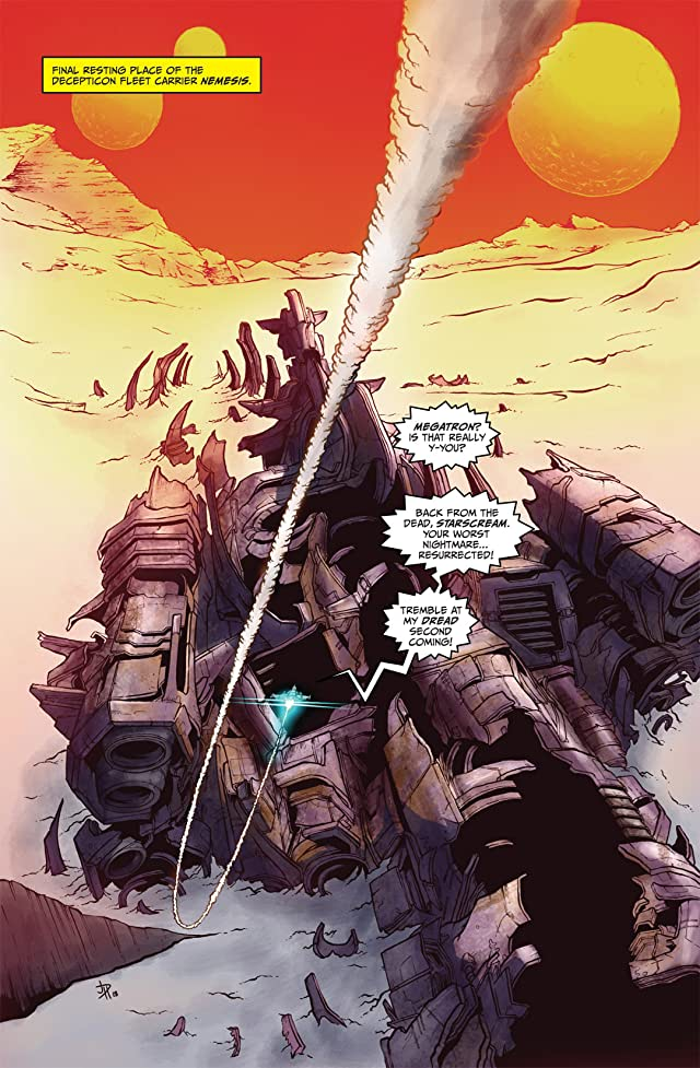 click for super-sized previews of Transformers: Revenge of the Fallen Movie Adaptation #2