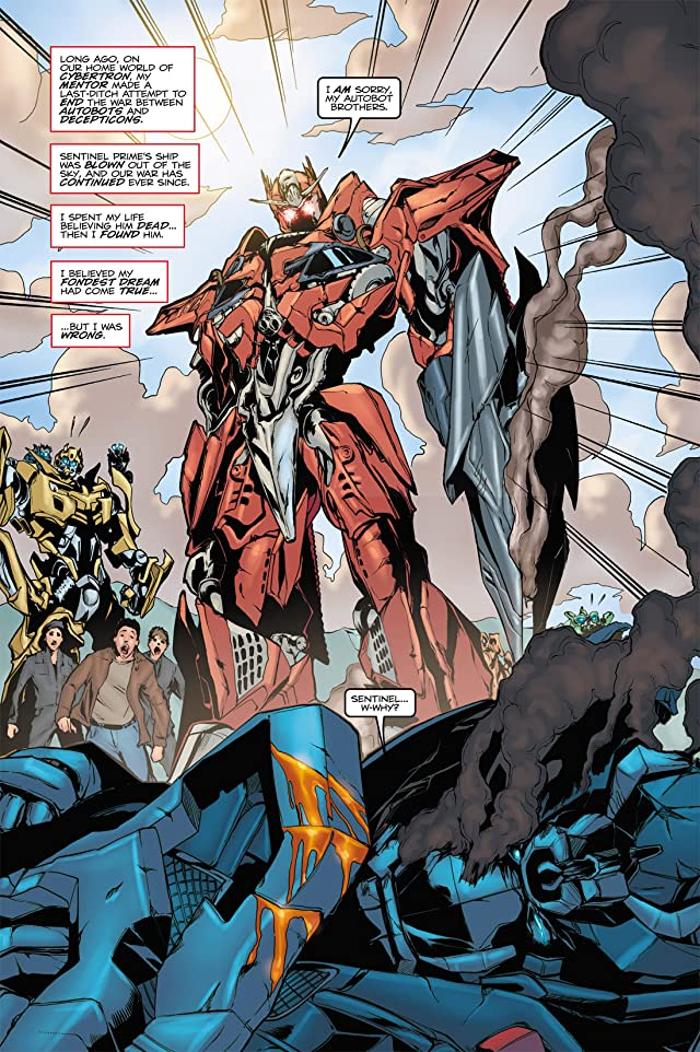 click for super-sized previews of Transformers 3 Movie Adaptation - Dark of the Moon #3