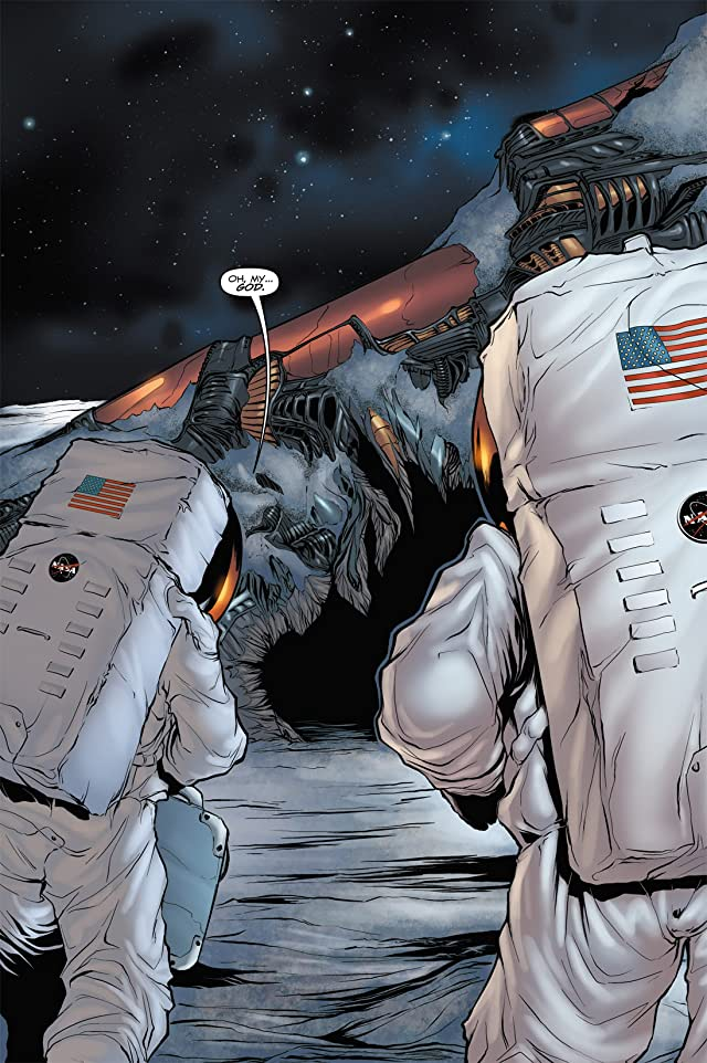 click for super-sized previews of Transformers 3 Movie Adaptation - Dark of the Moon #1